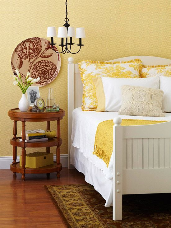 136 best Yellow Interiors images on Pinterest | Bedrooms, Yellow and ...