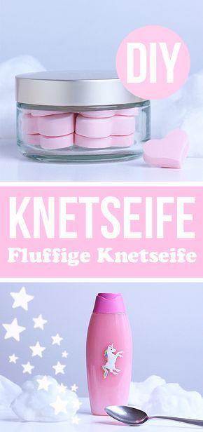 Knetseife selber machen - DIY Knet Seife - Waschknete basteln mit Kindern - Geschenkideen - Geschenke Weihnachten - Wichtelgeschenke