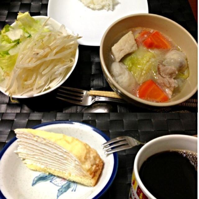 昨晩の家ご飯  デザートはミルクレープ - 31件のもぐもぐ - ニラガ ン バボイ【フィリピン風豚肉&野菜スープ】 by manilalaki