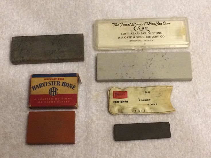 A personal favorite from my Etsy shop https://www.etsy.com/listing/554568683/4-vintage-sharpening-stones-case