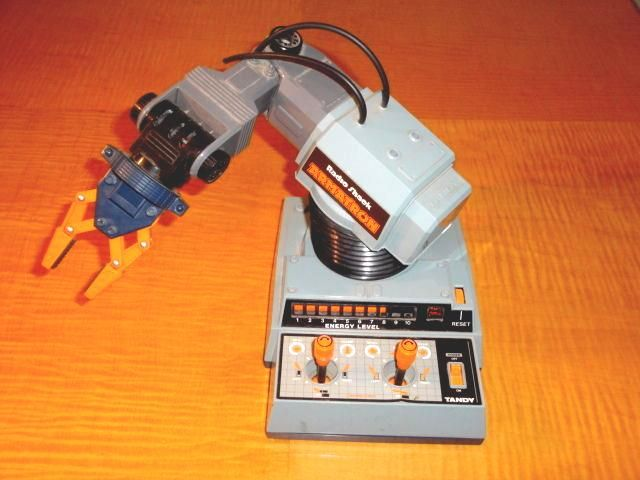 Radio Shack Toys For Boys : Vintage s radio shack armatron robot robotic