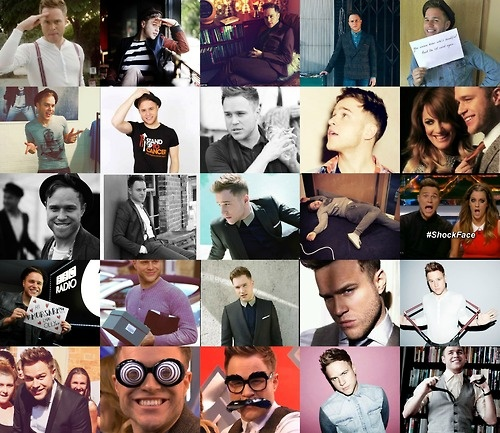 Olly Murs collage