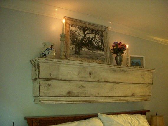 Wooden Mantel Wood Shelf Floating Wall Ledge