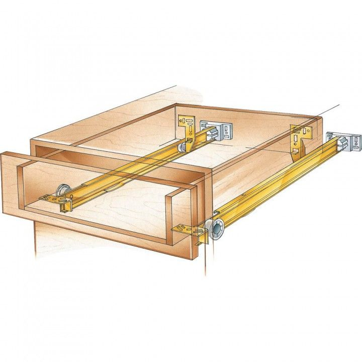 Suspension Drawer Slide