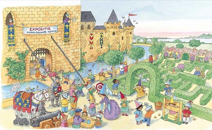 Interactieve praatplaat: ridders en kastelen met liedjes, flimpjes en digibordlessen. https://www.thinglink.com/scene/518329163245944833