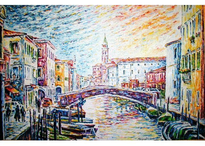 """Maurizio Carpanelli :: Web Art Gallery """"Chioggia V"""" #oliosutela"""