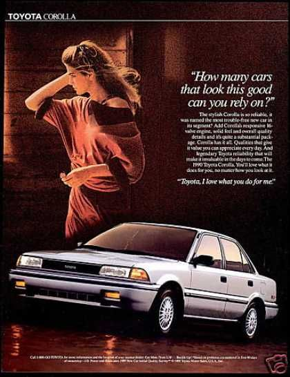 Toyota Corolla Car Look This Good Photo (1990)