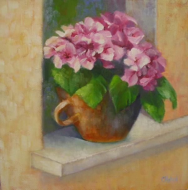 Tuscan Flower Pot Chris Hobel Still Life Pinterest