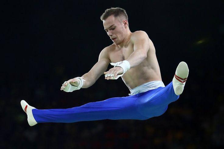 I think all @verniaiev.gym #gymnastics routines should be performed without a shirt!  #OlegVerniaiev #olympics #gala #rio2016 #olegthegreat