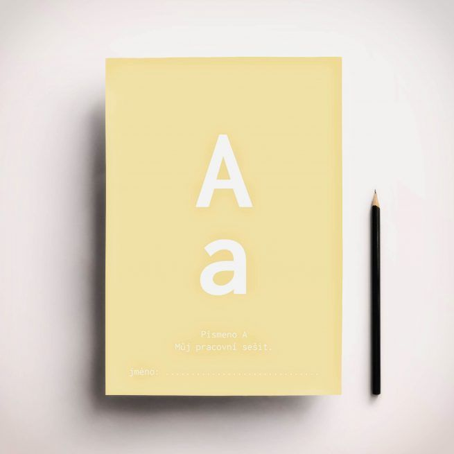 FREE Alphabet activity book letter A,  made by pipasik