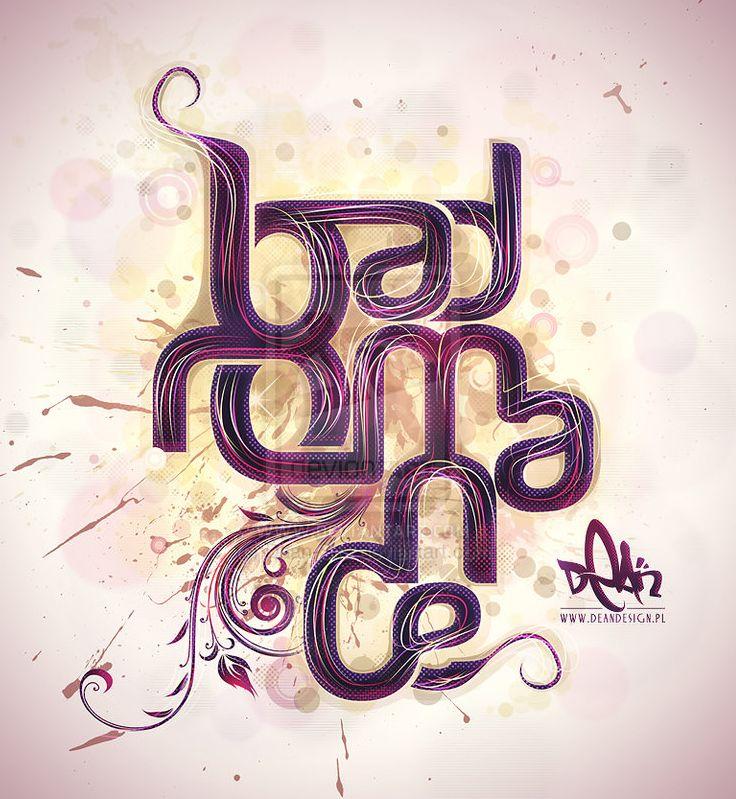 17 Beautiful Typography Design Inspiration