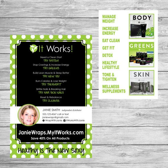 examples of itworks party flyers - Heartimpulsar