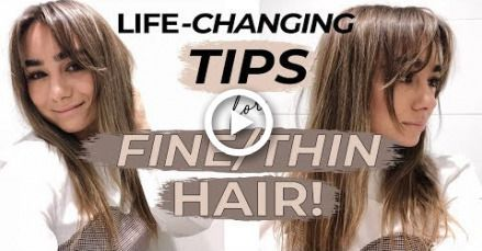 LIFE CHANGING HACKS & TIPS FOR FINE THIN HAIR! Julia Havens #hair #hairstyles