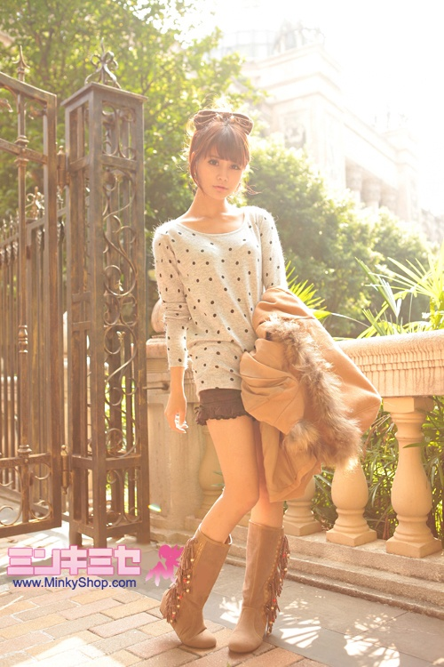Sweet Gyaru Lace Hem Shorts