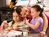 "Kids love baking cakes ""from scratch."" And it′s so easy, even grownups can do it! http://www.familytime.com/showarticle.aspx?articleid=963"