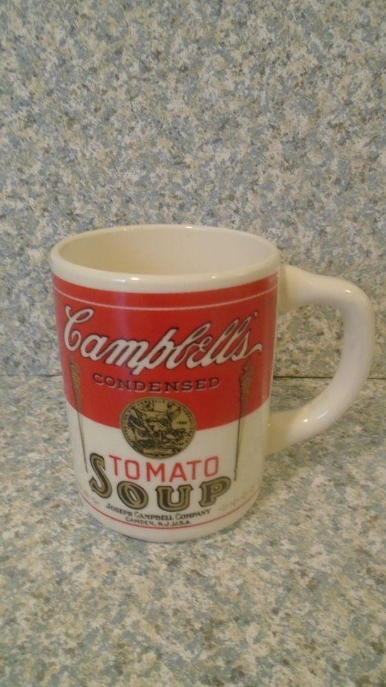 Vintage Campbell Soup Company Mug  USA *Free Ship! #CampbellSoupCompany