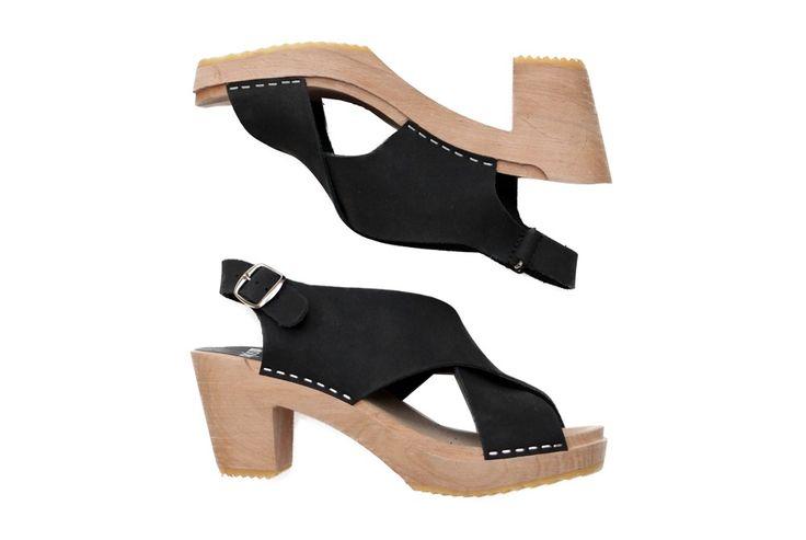 950 funkis clog high eva black nubuck shoes clogs for Funkis sale