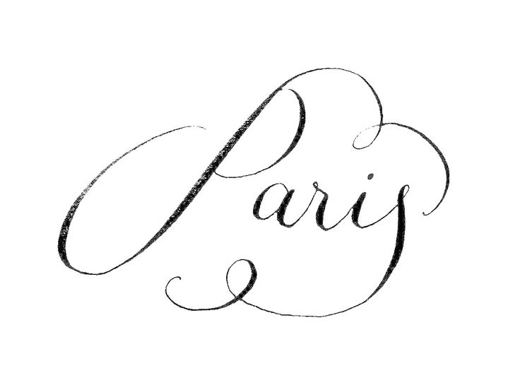 Paris is ours my love...always.