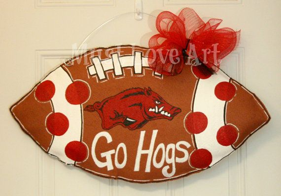 Razorback Classroom Decor : Best burlap door hangers images on pinterest