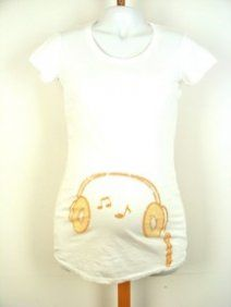 : Idea, Gift, Head Phones, Baby Boys, Maternity Shirts, Head Songs, Easy French Twist, Baby Belly, Pregnancy Tees