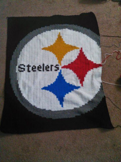 Crochet Pattern Steelers Afghan : 47 best images about Crochet - Charts on Pinterest ...