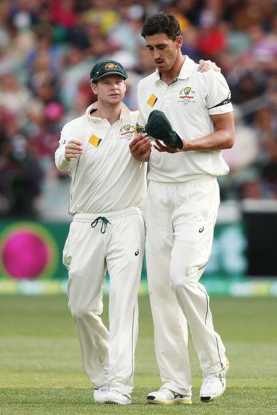 Mitchell Starc Photos - Australia v New Zealand - 3rd Test: Day 1 - Zimbio