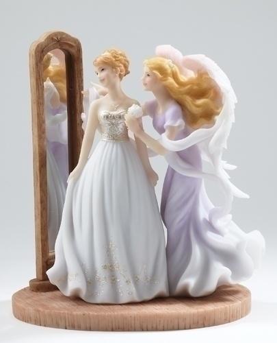 seraphim wedding angel figurine heather