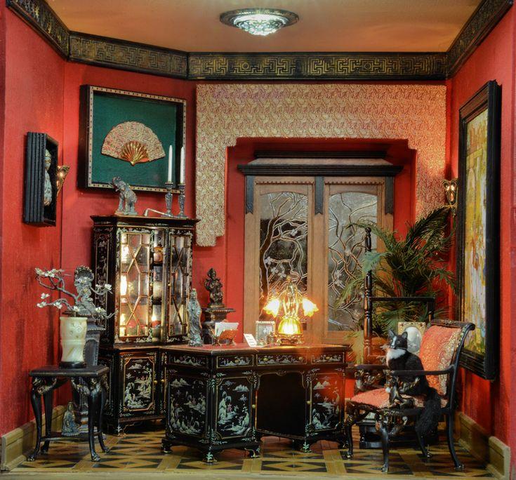 9528 best Miniature Rooms Displays images on Pinterest