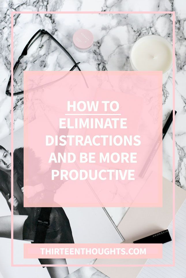 How to eliminate distractions + be productive Being busy, and being productive are two different things. Aren't they? Being productive means working