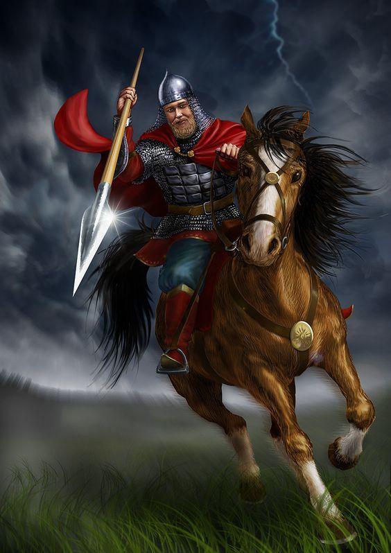 Guerrero medieval Ruso