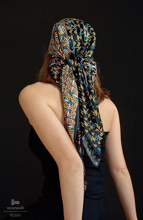 noorsaab | Lookbook 01 | Angelou luxury silk scarf
