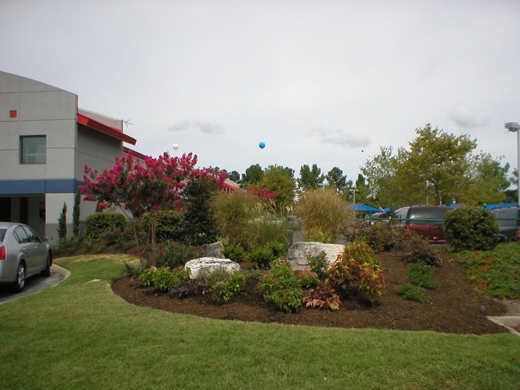 One Of Our Commercial Landscaping Customers. Commercial LandscapingGardens
