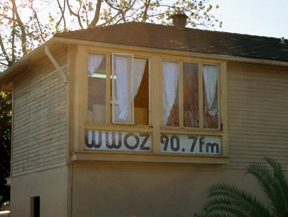 WWOZ Radio Station, one of the finest Jazz stations in the nation