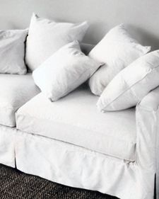 martha stewart - knife-edge pillow   (for pull-out couch in E's room)