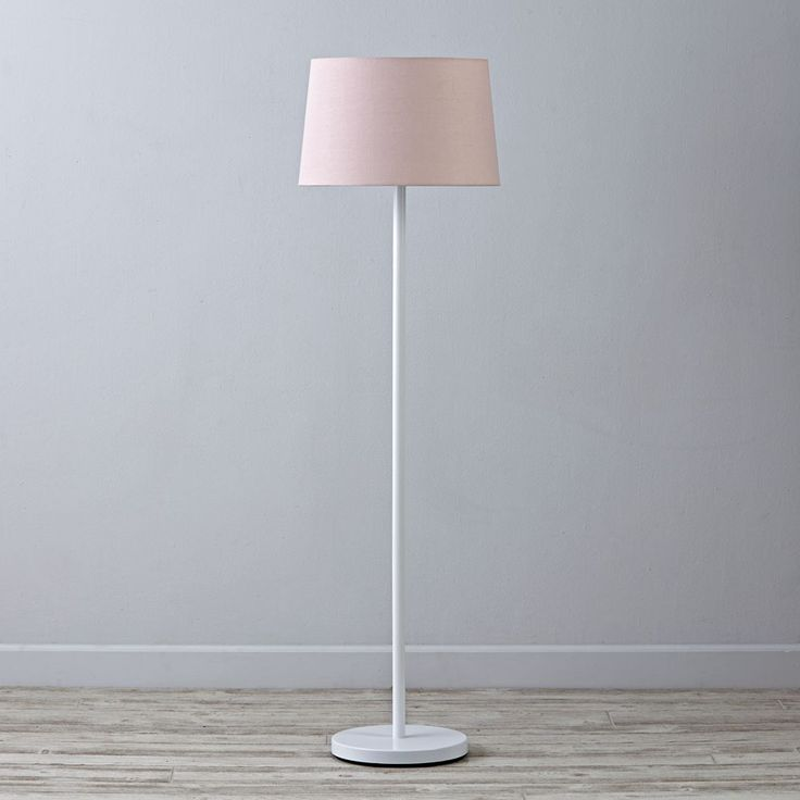 Shop Mix And Match Light Pink Floor Lamp Shade. With Its Understated,  Easy To Coordinate Style, This Light Pink Floor Lamp Shade Is Exceptionally  Versatile ...