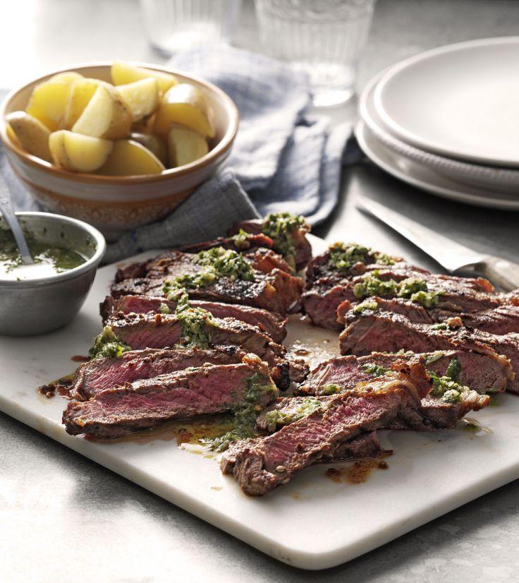 Steki Z Poledwicy Wolowej Z Sosem Chimichurri Food Steak Meat