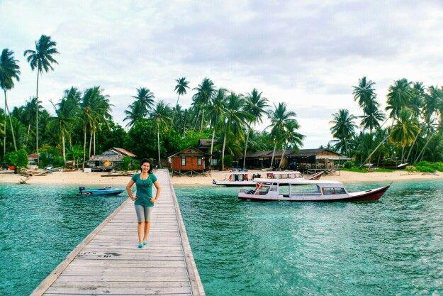 Beautiful Derawan Island #derawan #island #berau #eastborneo #indonesia
