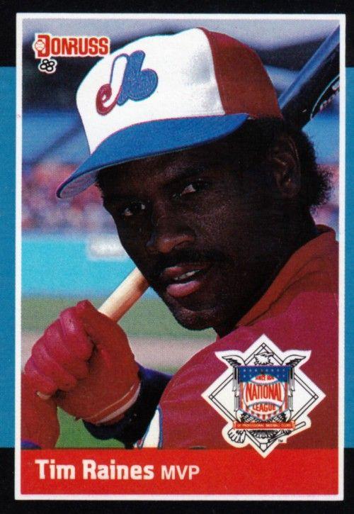 Random Baseball Card 3166 Tim Raines Outfielder Montreal Expos