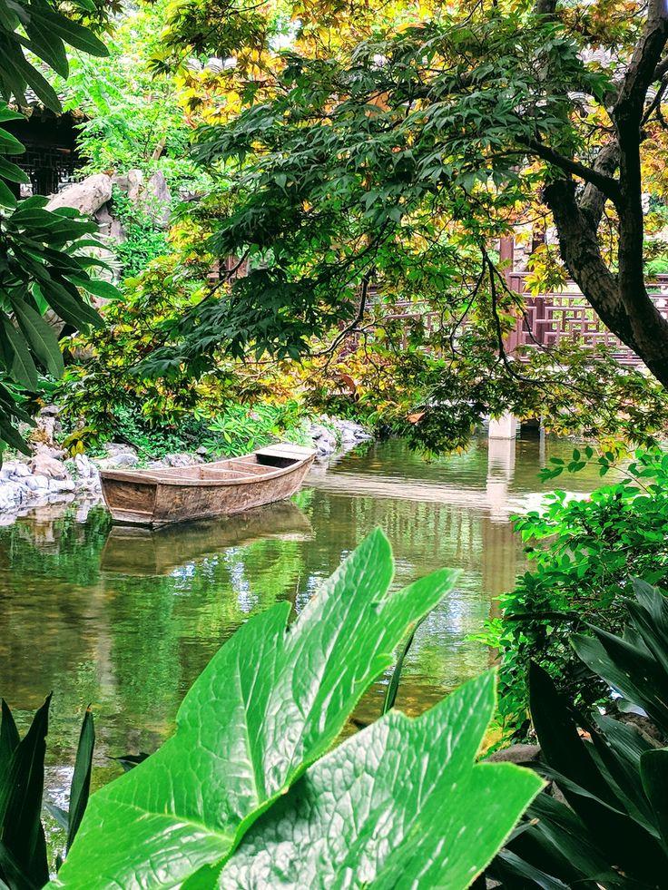 Portland Downtown Chinese Garden Chinese garden, Hiking