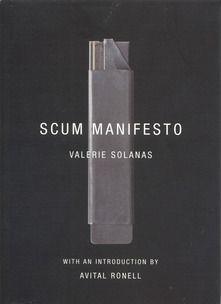 Valerie Solana 'Scum Manifesto'