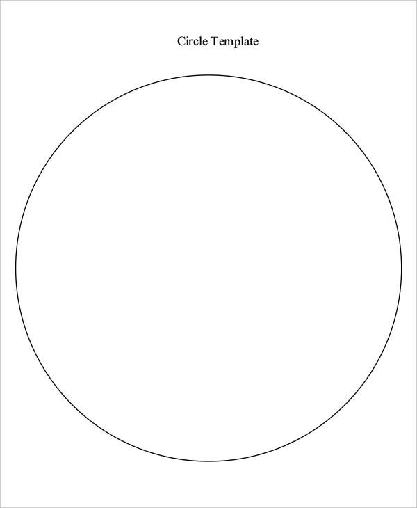 11 Printable Circle Templates For Free Download Circle Template