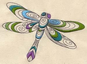 Doodle Dragonfly_image