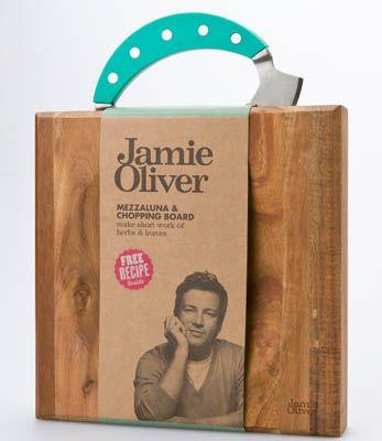 Big W JAMIE OLIVER mazzaluna & chopping board, $24