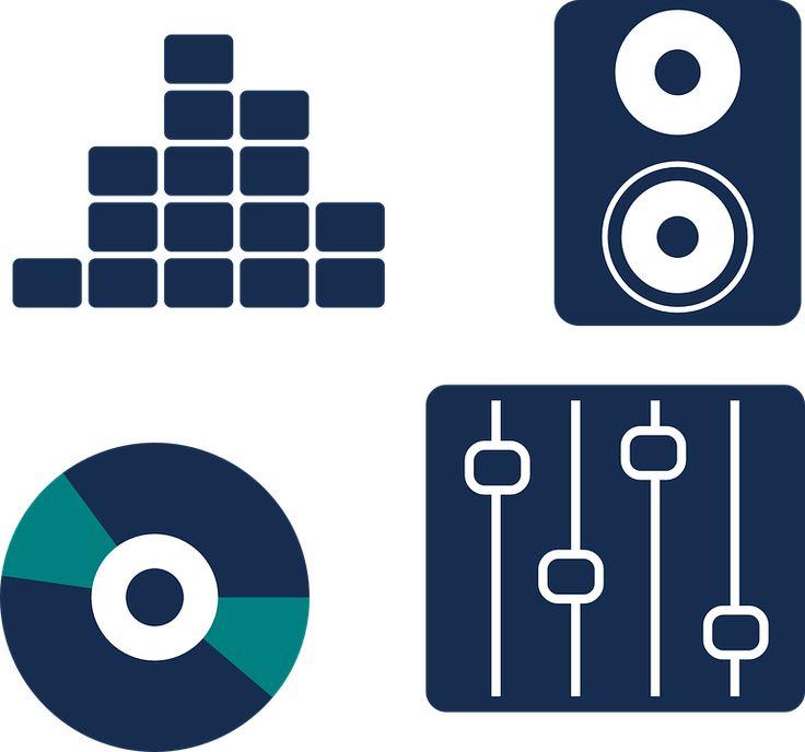 Vinyl, Equalizer, Speaker, Music, Sound, Audio