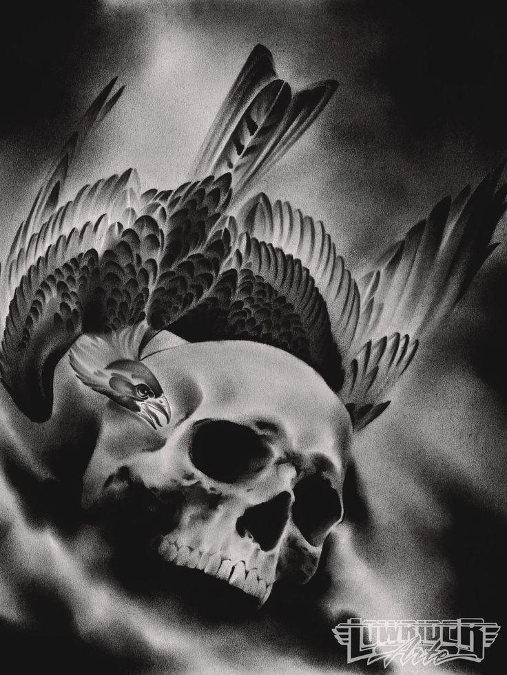 pinterest tattoos of skulls | Mason Williams Tattoo Skull And Raven