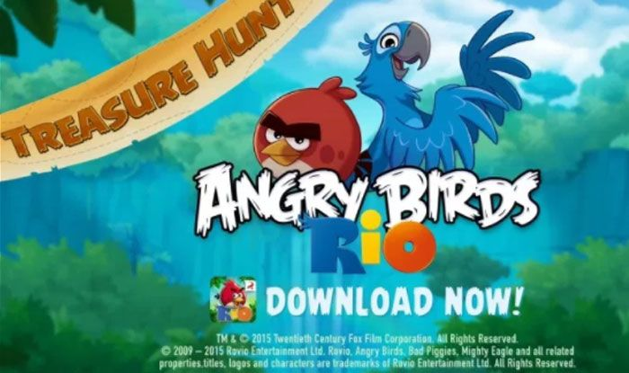 Angry Birds Rio Apk Android Www With Images Angry Birds Star
