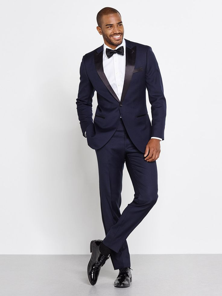 From The BLK TUX -- this is what Blake Smith said he used for his sisters wedding and was impressed... Midnight Blue Tuxedo | The Black Tux
