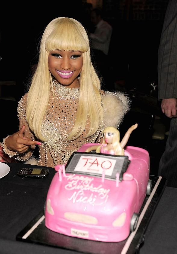 Nicki Minaj Birthday Cake.