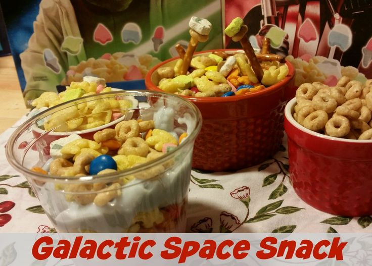 You know you have picked a good snack to make when you have to hide the ingredients from your kids so you can make your galactic space snack