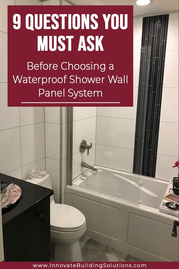 9 Questions You Must Ask Before Choosing A Waterproof Shower Wall